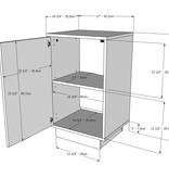 Nexera Nightstand, 1-Door, White