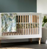 South Shore DreamIt 3-Piece Muslin Baby Bedding Set, Green