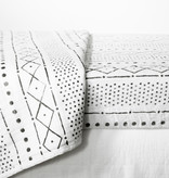 South Shore DreamIt 3-Piece Muslin Baby Bedding Set, White and Gray