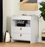 South Shore Balka Changing Table, Pure White
