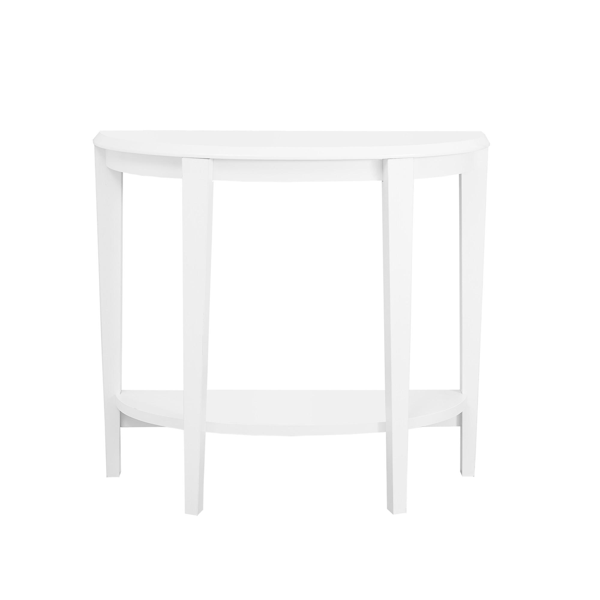 Console Accent Table 36 White M2go