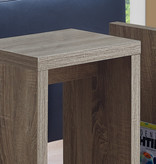 """Monarch Accent table, 24 """"h, dark taupe"""
