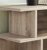 """Monarch Accent Table - 24""""H / Dark Taupe"""
