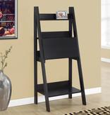 """Monarch Computer Desk - 61""""H / Cappuccino Ladder Style"""