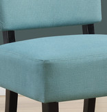 Monarch Accent Chair - Teal Fabric