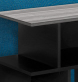 Monarch Accent Table, Black / Grey top