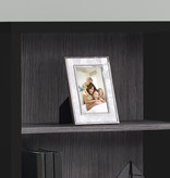 """Monarch Bookcase 48""""H, Black and grey with adjustable shelves"""