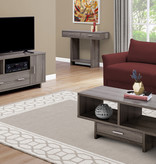 Monarch Coffee Table, Dark Taupe