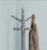 Monarch Coat Rack, Grey Solid Wood