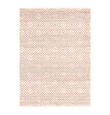 South Shore Avilla Pink Blush Aged Diamonds Area Rug 5ft x 8ft