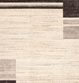 South Shore Holland Brown and Gray Contemporary Squares Area Rug 8ft x 10ft