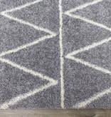 Kalora Fergus Rug, Grey and White , 8ft x 10ft