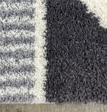 Kalora Fergus Rug, White and Grey , 5ft x 8ft