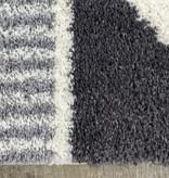 Kalora Fergus Rug, White and Grey , 8ft x 10ft