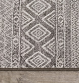 Kalora Intrigue Tapis, Grey and Cream, 5ft x 8ft