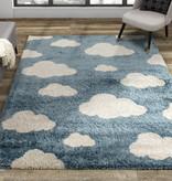 Kalora Kids Rug, Cloud, Blue, 4ft x 6ft