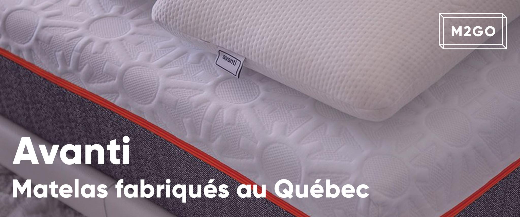 Avanti : Matelas fabriqués au Québec