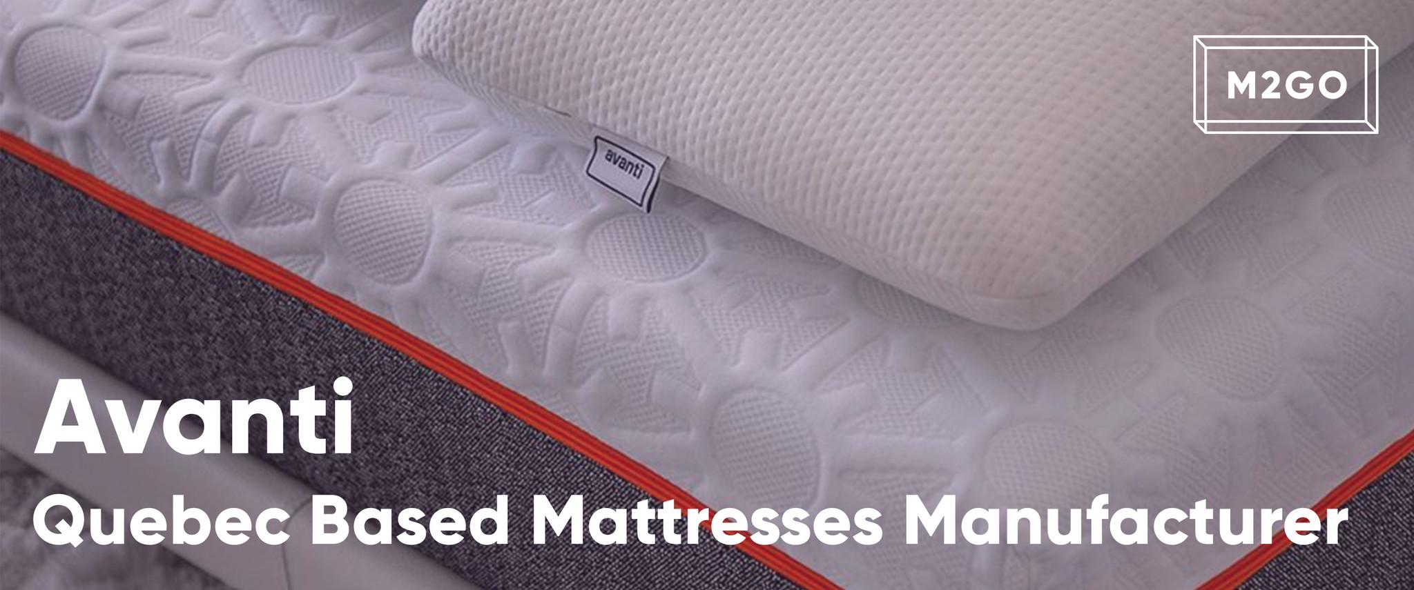 Avanti : Quebec Based Mattresses Manufacturers