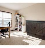 "Sleep Chest Chest Bed with Full Size (54"") Mattress Bridger, Auburn"
