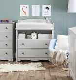 South Shore Angel 4-Drawer Chest, Soft Gray