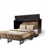 """Sleep Chest Chest Bed with Queen Size (60"""") Mattress Manhattan, Brushed Espresso"""