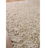 Kalora Taupe/Beige Shaggy Solid Rug 4ft x 6ft
