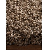 Kalora Brown Shaggy Solid Rug 4ft x 6ft