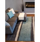 Kalora Maroq Lazy Stripes Soft Touch Rug 8ft x 10ft