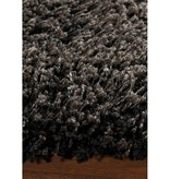 Kalora Charcoal Shaggy Solid Rug 4ft x 6ft