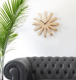 Umbra Ribbonwood Wall Clock