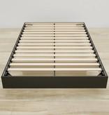 Nexera Full Size Platform Bed, Black