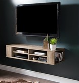 "South Shore City Life Wall Mounted Media Console 48""L, Weathered Oak"