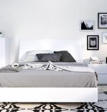 "Nexera Paris Queen Headboard (60""), White"