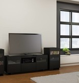 Nexera Cabinet audio, Noir, collection Vision