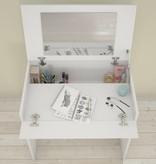 Nexera Vanity with Enclosed Storage and Mirror, White, Blvd