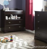 South Shore Fundy Tide Changing Table, Espresso