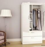 South Shore Acapella Wardrobe Armoire, Pure White