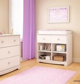 South Shore Little Jewel 3-Drawer Chest, Pure White