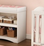 South Shore Peek-a-boo Changing Table, Pure White