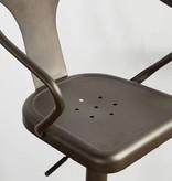 !nspire Astra Adjustable Stool in Gunmetal