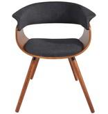 !nspire Chaise, Gris charbon, collection Holt