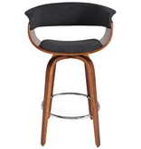 "!nspire Holt 26"" Counter Stool in Charcoal Grey"