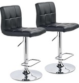 WHi Max Gas Lift Stool in Black