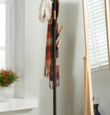 WHi Tenley Coat Rack in Black