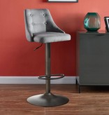 WHi Adyson Gas Lift Stool in Grey