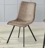 !nspire Buren Side Chair in Vintage Brown