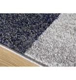 Kalora Focus Grey/Blue Patchwork Rug 8ft x 10ft