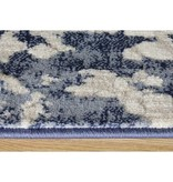 Kalora Alida Blue/Cream Distress Rug 2ft x 4ft