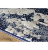Kalora Alida Blue/Cream Distress Rug 5ft x 8ft