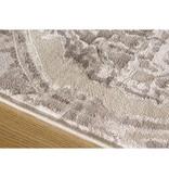 Kalora Alaska Grey Distressed Ovals Rug 8ft x 10ft
